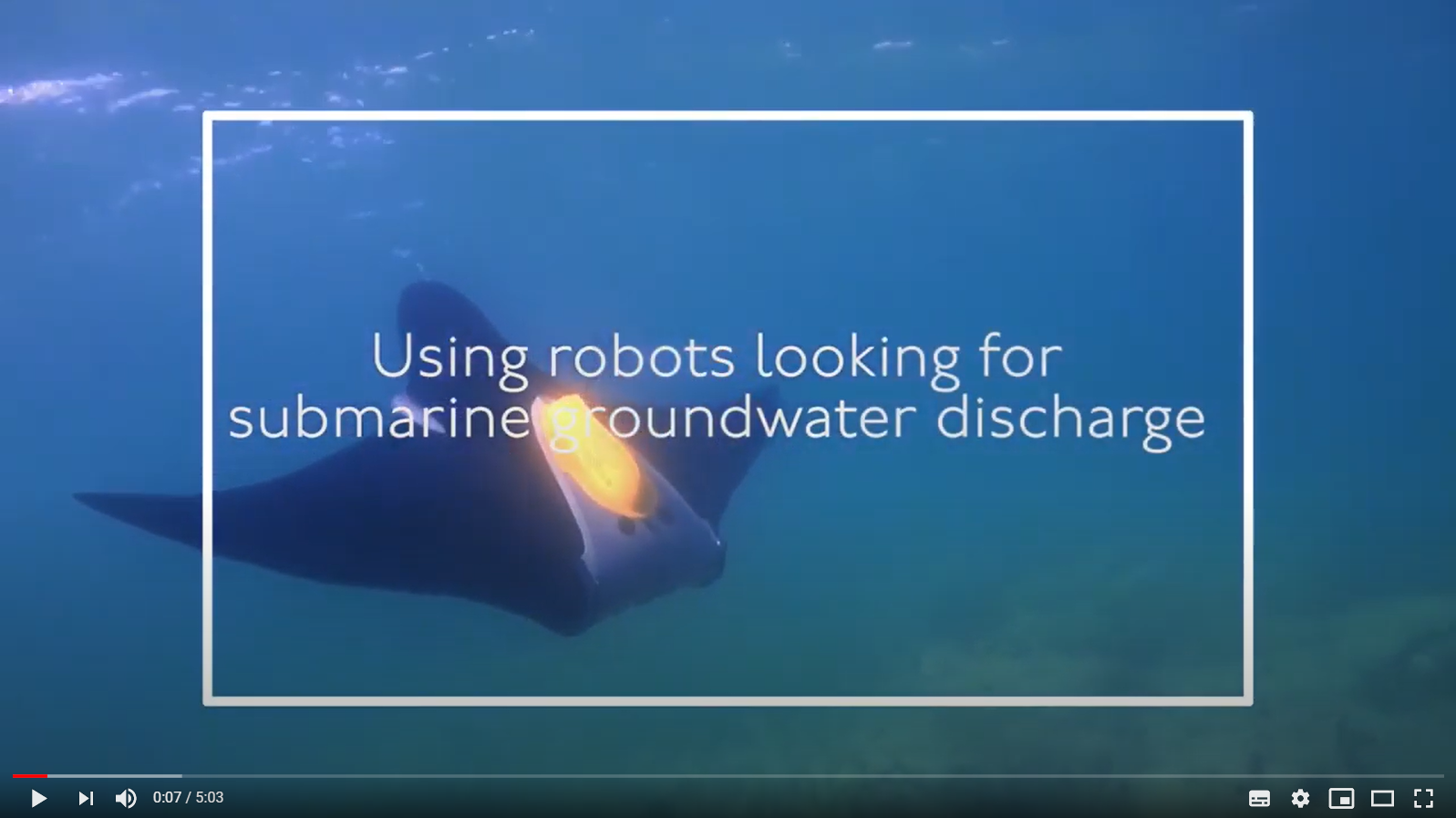 Video about Seamount project